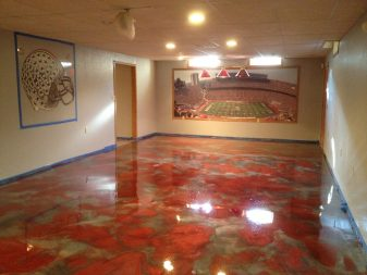 Heaven 3D Interiors Metalic Epoxy Floors