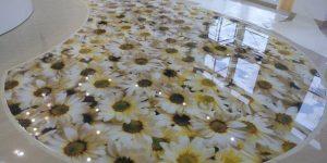3D epoxy floor Lahore Islamabad Heaven interiors
