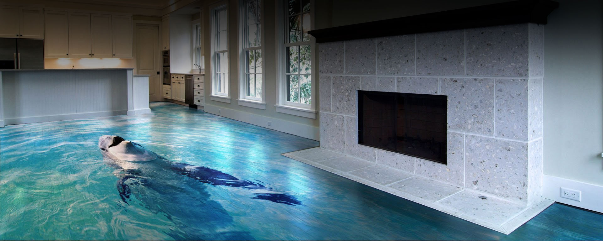 Metallic Epoxy Floor Home Design Ideas And Pictures