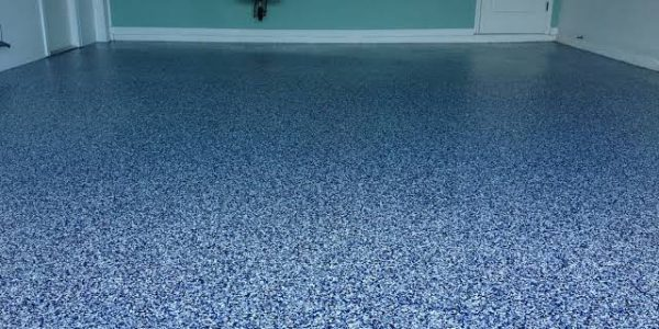Commerical flake epoxy floorong