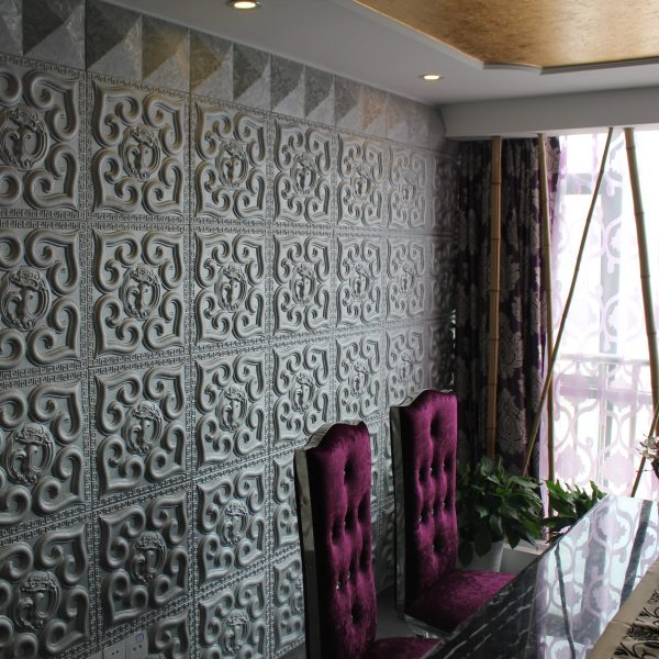 3D leather wall panels, Class, Ease and Efficiency. .