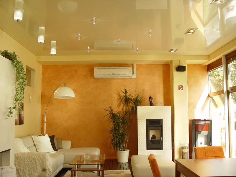 lacquer stretch ceiling Lahore