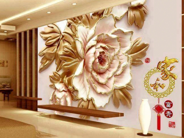 Stretch Ceilings in Lahore Pakistan 3D walls covering