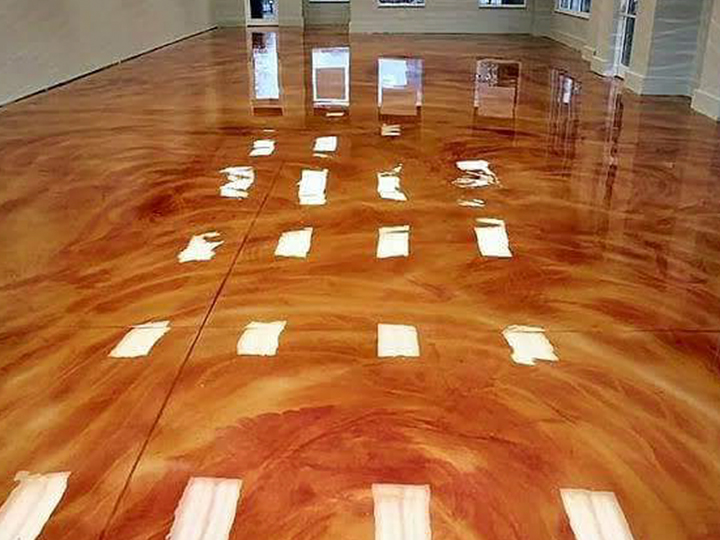 3dmetallicflooringinLahore 4walls trendsetters epoxy sabdullah galleriadesign house interiors office weddinghalls commerical interiors